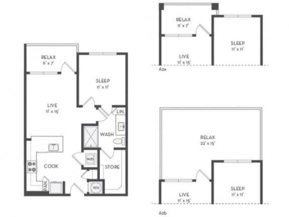 Floor Plan  A1 Floor Plan |District of Rosemary