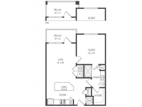 Floor Plan  A4 Floor Plan |District of Rosemary