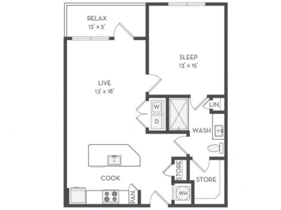 A5 Floor Plan |District of Rosemary