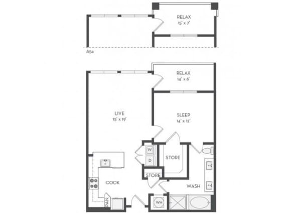 A7 Floor Plan |District of Rosemary