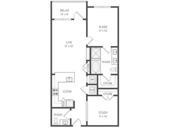 Floor Plan  A9S Floor Plan |District of Rosemary