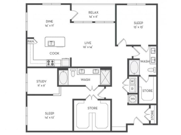 B11 Floor Plan |District of Rosemary