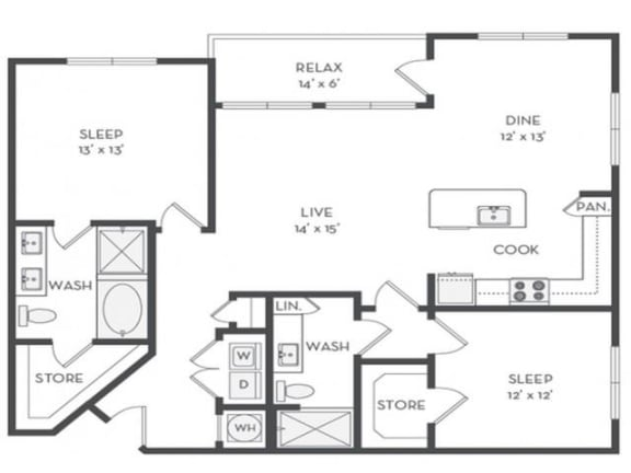 B6 Floor Plan |District of Rosemary