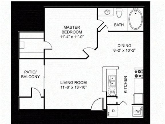 A1 Floor Plan |Walnut Creek