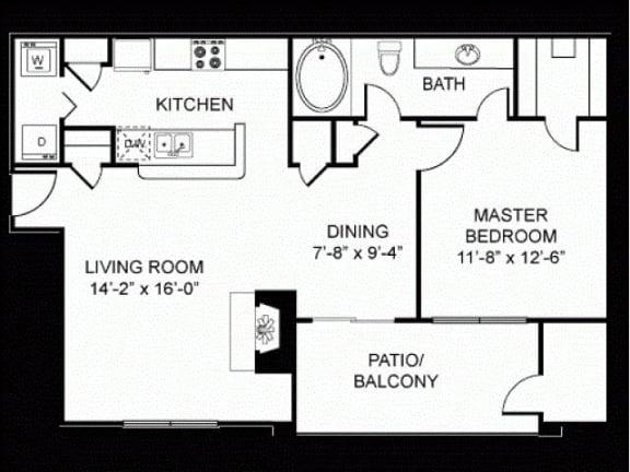 A3 Floor Plan |Walnut Creek