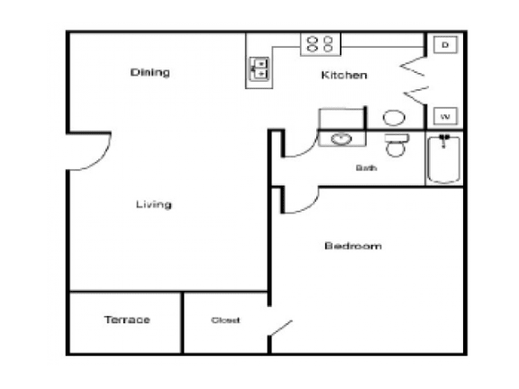 Floor Plan  A1 Floor Plan |Village Place