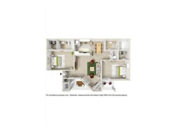 Floor Plan  B1E