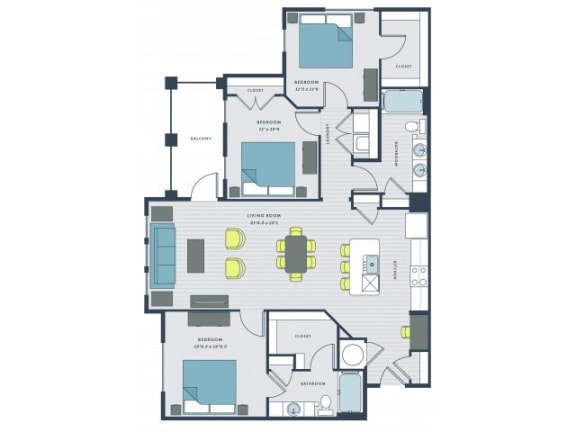 Beresford Floor Plan  Wharf 7