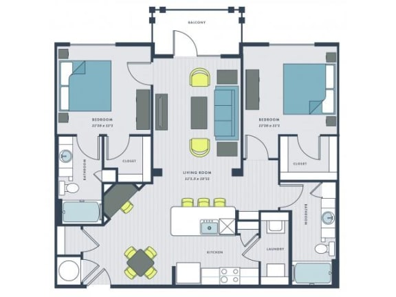 Floor Plan  Marshall Floor Plan |Wharf 7