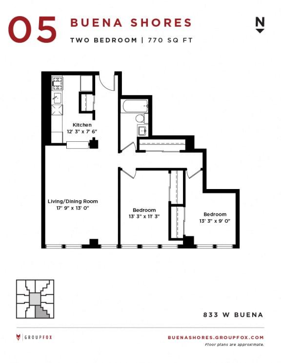 Buena Shores - Two Bedroom
