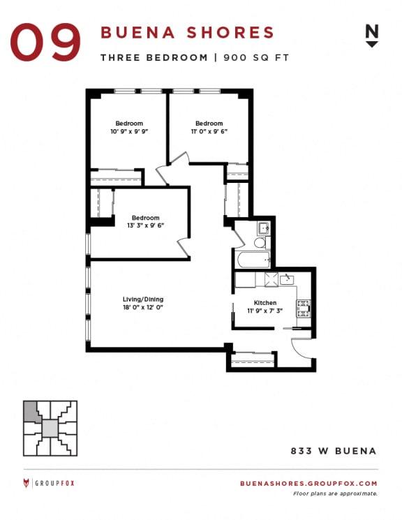 Buena Shores - Three Bedroom