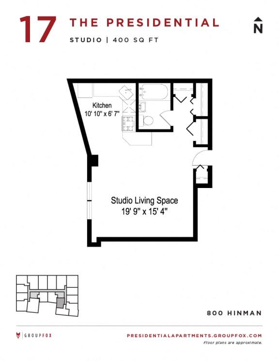 Presidential Apartments - Studio