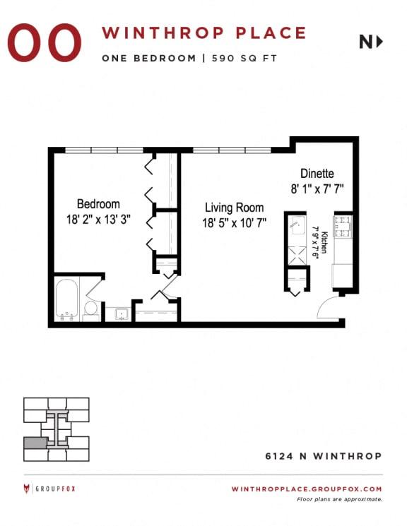 Winthrop Place - Floorplan
