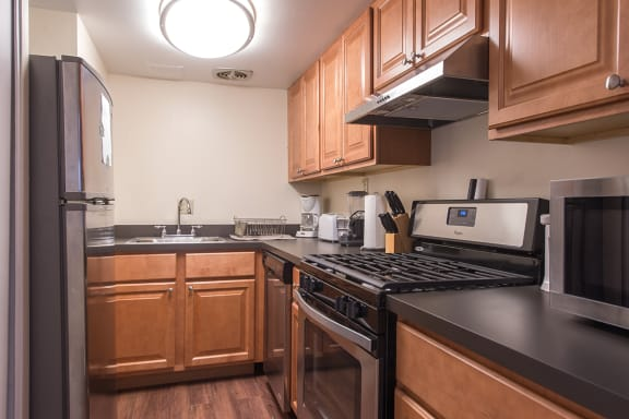 Stainless Steel Kitchen Appliances at Walnut Towers at Frick Park, Squirrel Hill, Pittsburgh