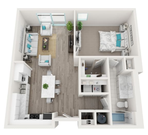 Floor Plan  1D Aspire