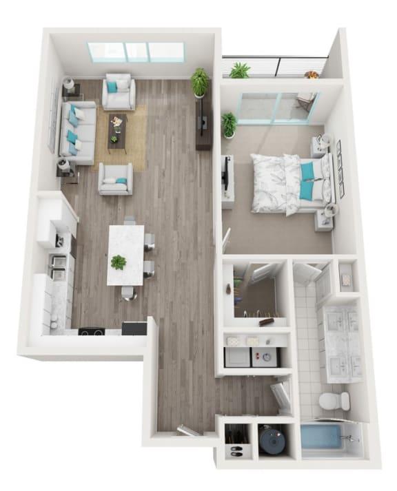 Floor Plan  1G City Scape