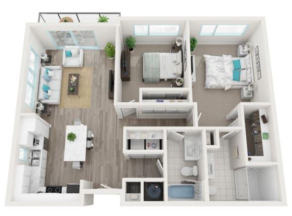 Floor Plan  2C Panoramic