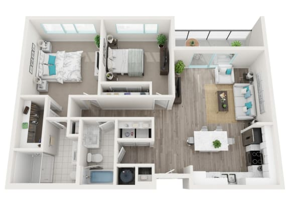 Floor Plan  2D Getaway