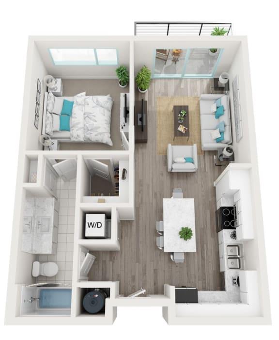 Floor Plan  3A Skyway