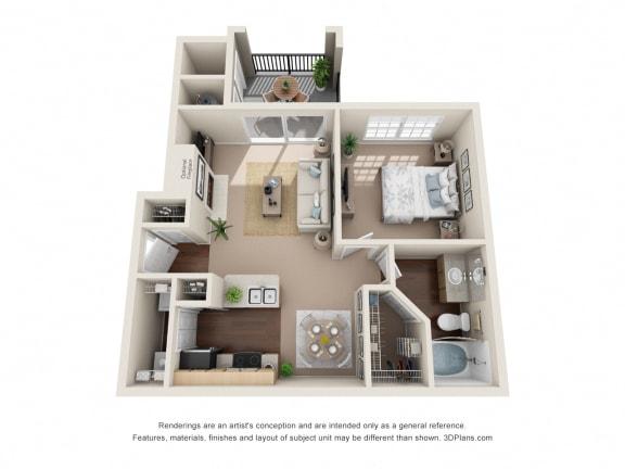 Floor Plan  Serenity