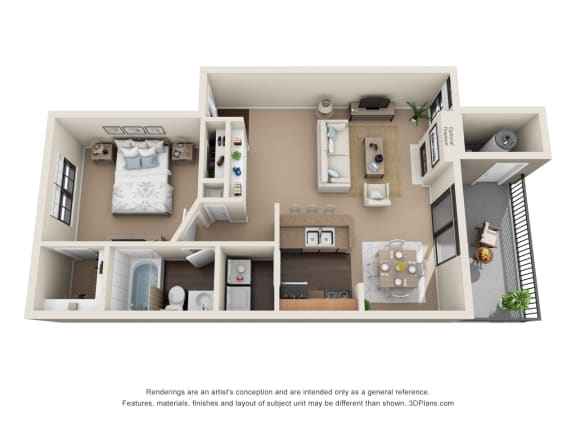 Floor Plan  Blanco