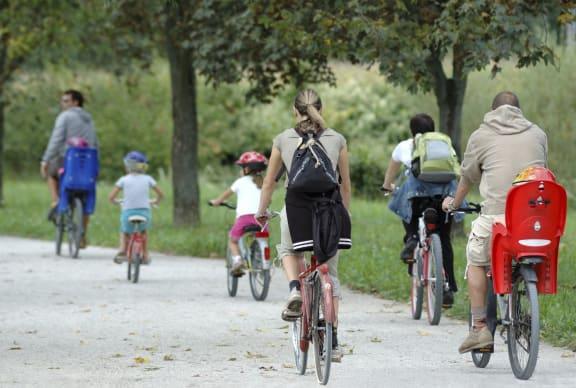 biking trails-Heritage Park Apartments, Minneapolis, MN