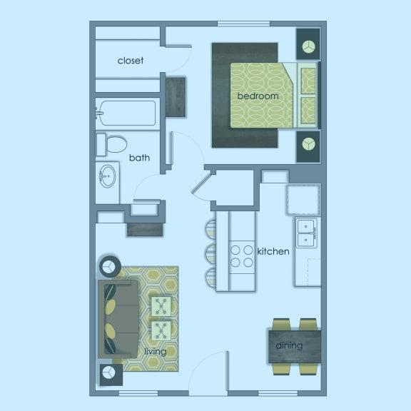 Floor Plan  Vol 4 E1 color wash at Volume, Austin