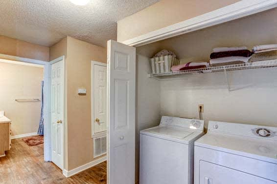 Washer and dryer in apartments