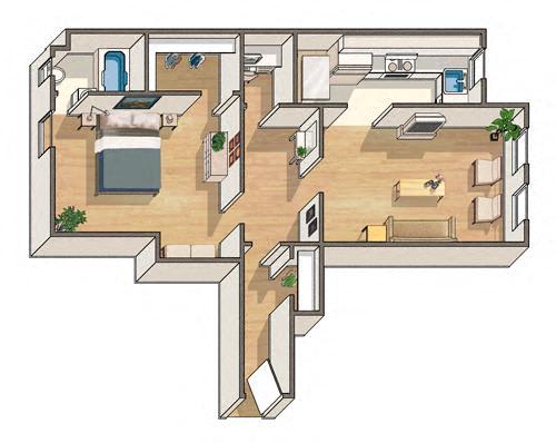 Oxford Floorplan at Ravenel, Washington, DC