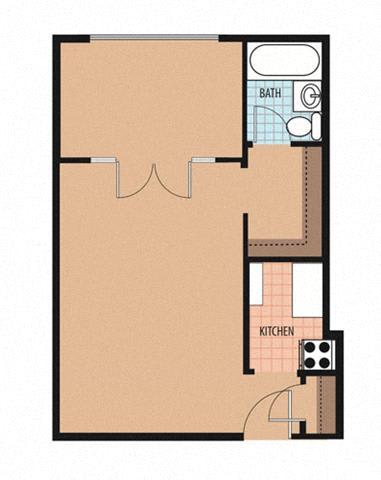 Lamont II Floor Plan at Park Marconi, Washington, Washington