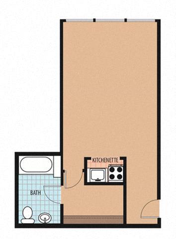 Cardozo Floor Plan at Sarbin Towers, Washington, Washington
