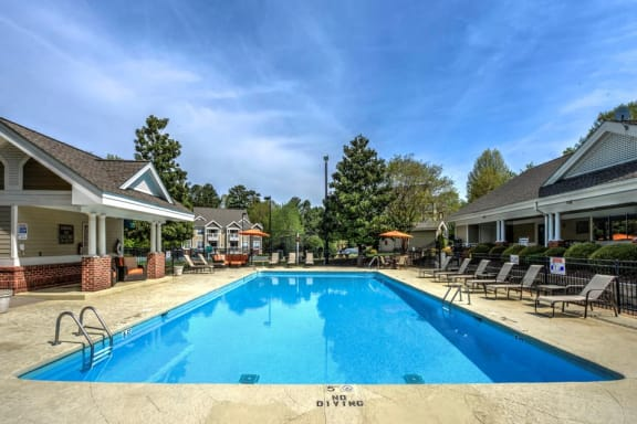 Sparkling Swimming Pool at Cambridge Apartments, North Carolina, 27615