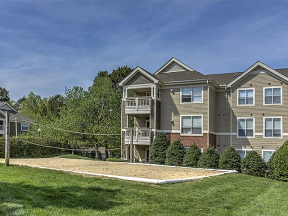 Sand Volleyball Court at Cambridge Apartments, Raleigh, NC, 27615