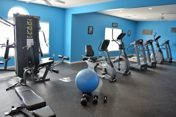 24-Hour Fitness & Cardio Center at Hawthorne Properties, Lafayette, 47905
