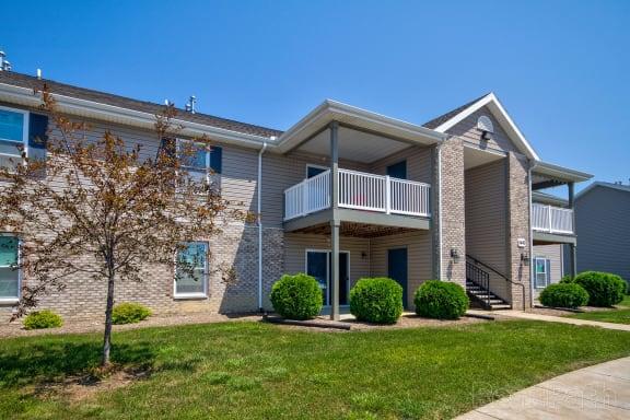 Cedar Exterior View at Hawthorne Properties, Lafayette, Indiana