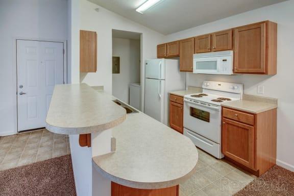 Cypress Upstairs Kitchen/Entryway Door at Hawthorne Properties, Indiana, 47905