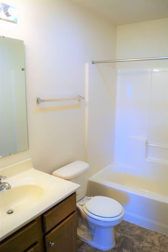 Willow View of Hallway Bathroom  at Hawthorne Properties, Lafayette, 47905