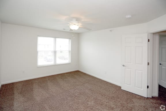 Cypress Master Bedroom at Hawthorne Properties, Lafayette, Indiana