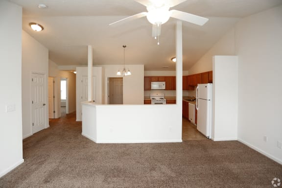 Living Room - Carpeted  at Hawthorne Properties, Indiana, 47905