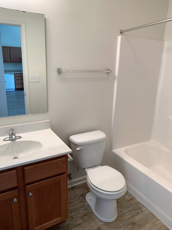 Hallway (Guest) Bathroom at Hawthorne Properties, Lafayette, 47905