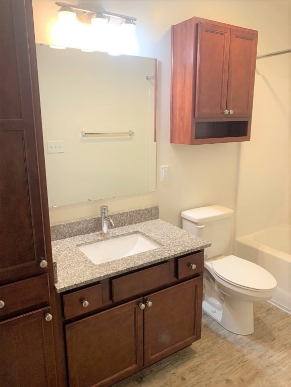 Luxurious Bathrooms at Hawthorne Properties, Lafayette, Indiana