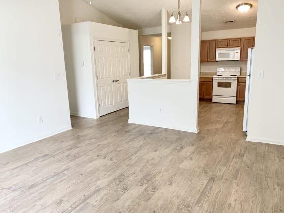 Vinyl Plank Flooring Upgrade at Hawthorne Properties, Lafayette, Indiana