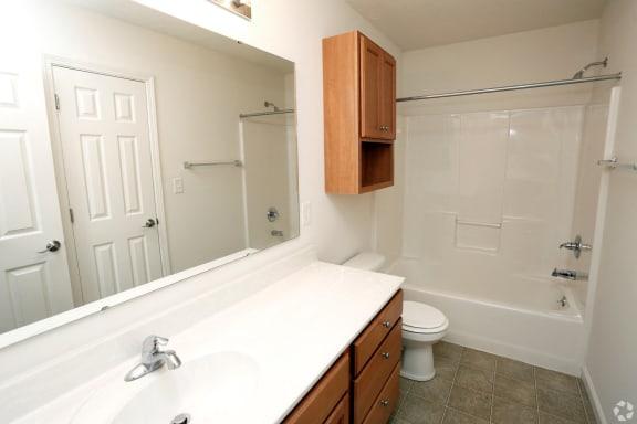 Willow Master Bathroom at Hawthorne Properties, Lafayette, 47905