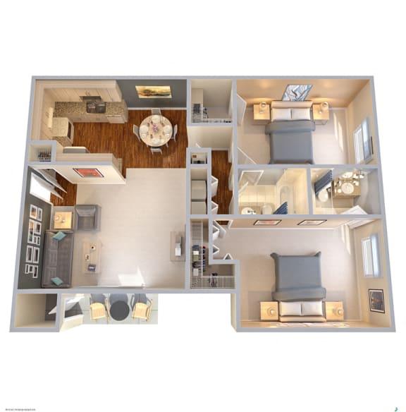 Floor Plan  The Park at Wintergreen Apartments | DeSoto, TX| Floor Plans