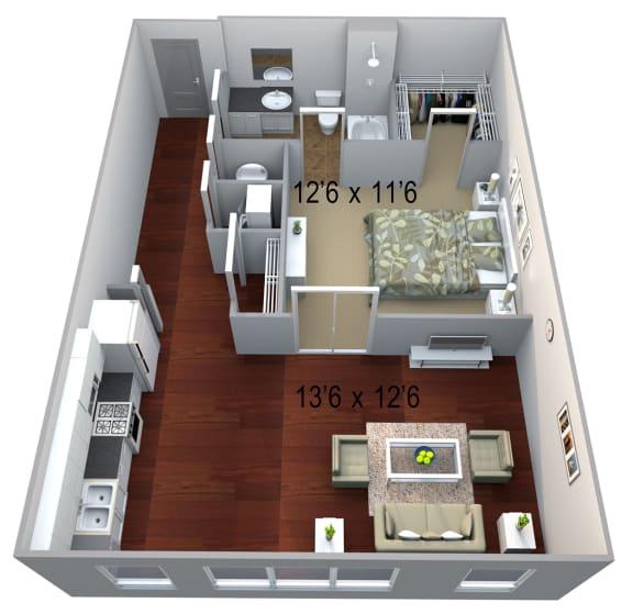 Walton Westside A6 Floor Plan