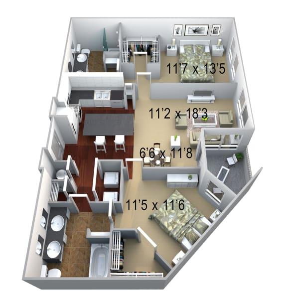 Walton Westside B3 Floor Plan