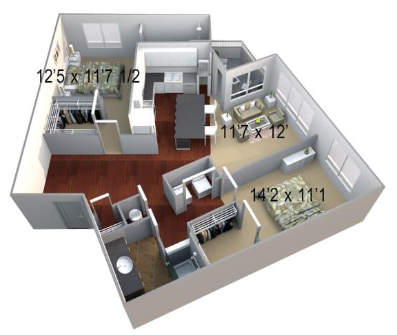 Walton Westside B4 Floor Plan