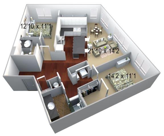 Walton Westside B5 Floor Plan