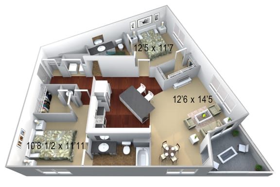 Walton Westside B6 Floor Plan