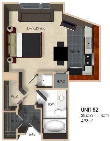 Floor Plan  Floor plan at Aurora, Maryland